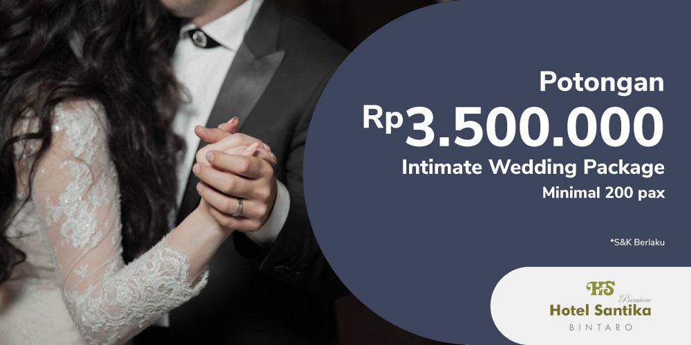 Gambar promo Marry Me at Hotel Santika Premiere Bintaro dari Santika